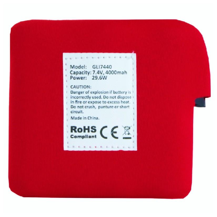 Náhradná batéria pre vyhrievanú vestu Glovii GLI7440