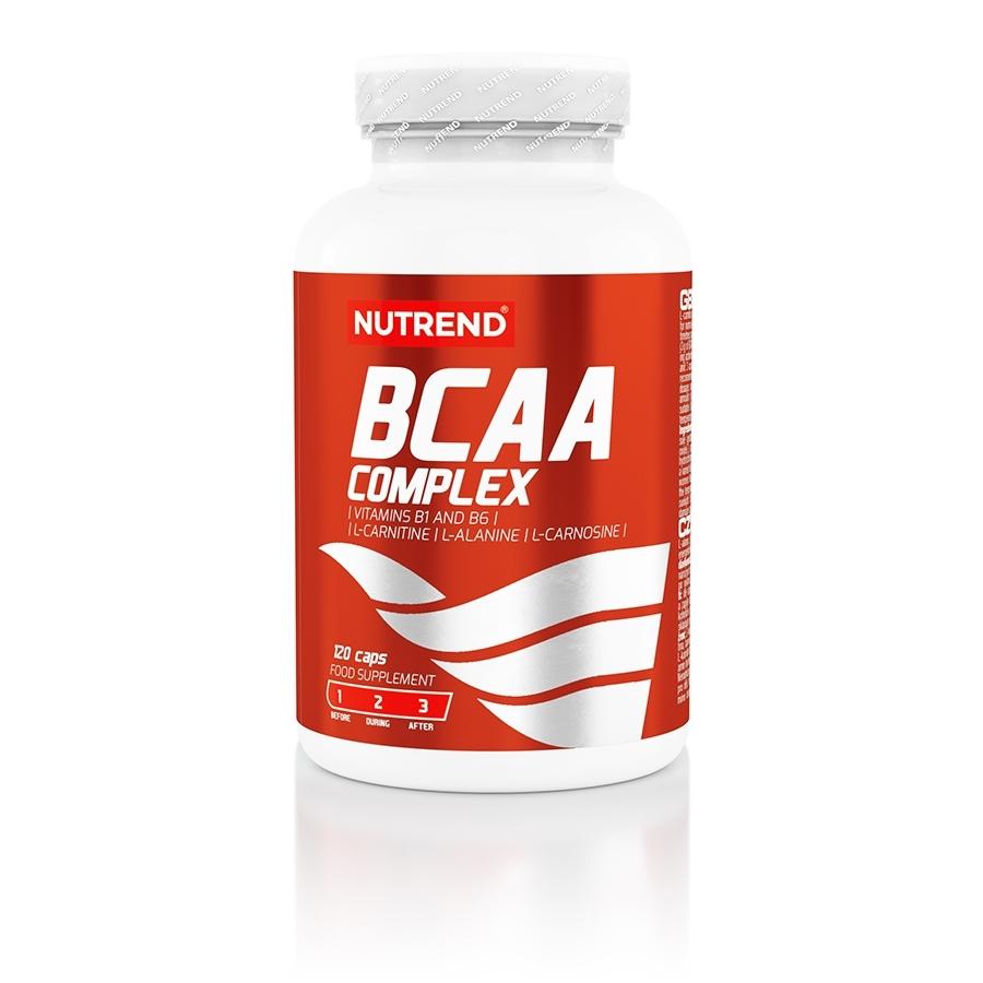 Aminokyseliny Nutrend BCAA Complex 120 kapsúl