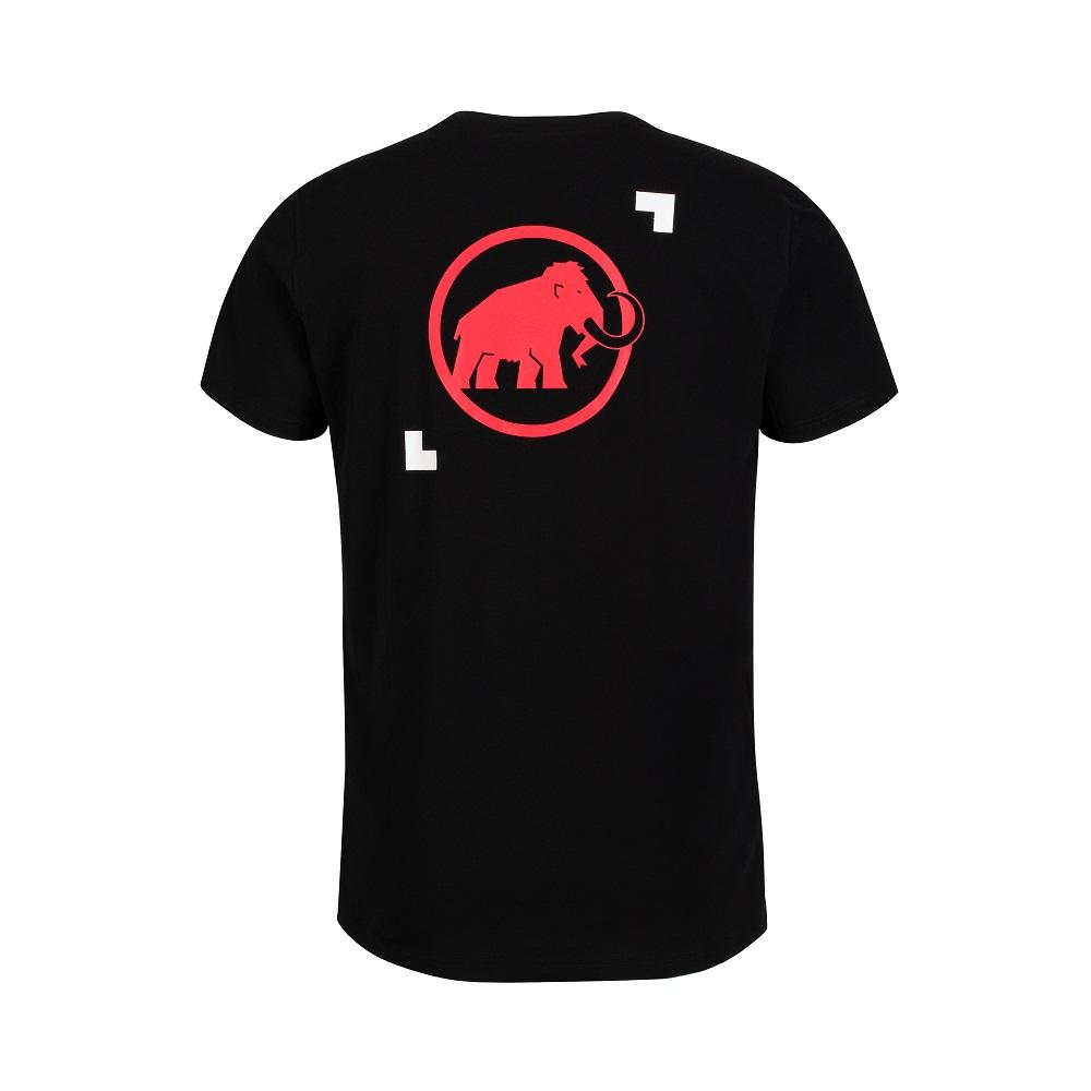Pánske tričko MAMMUT Logo T-Shirt Men Black - XXL