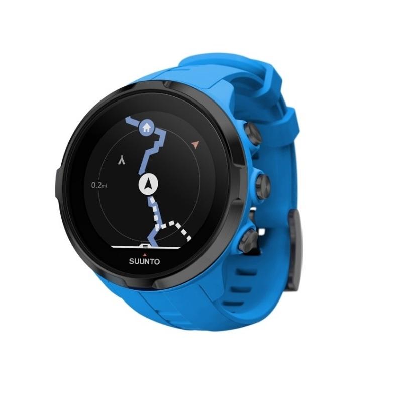 Športové hodinky SUUNTO Spartan Sport Wrist HR Blue