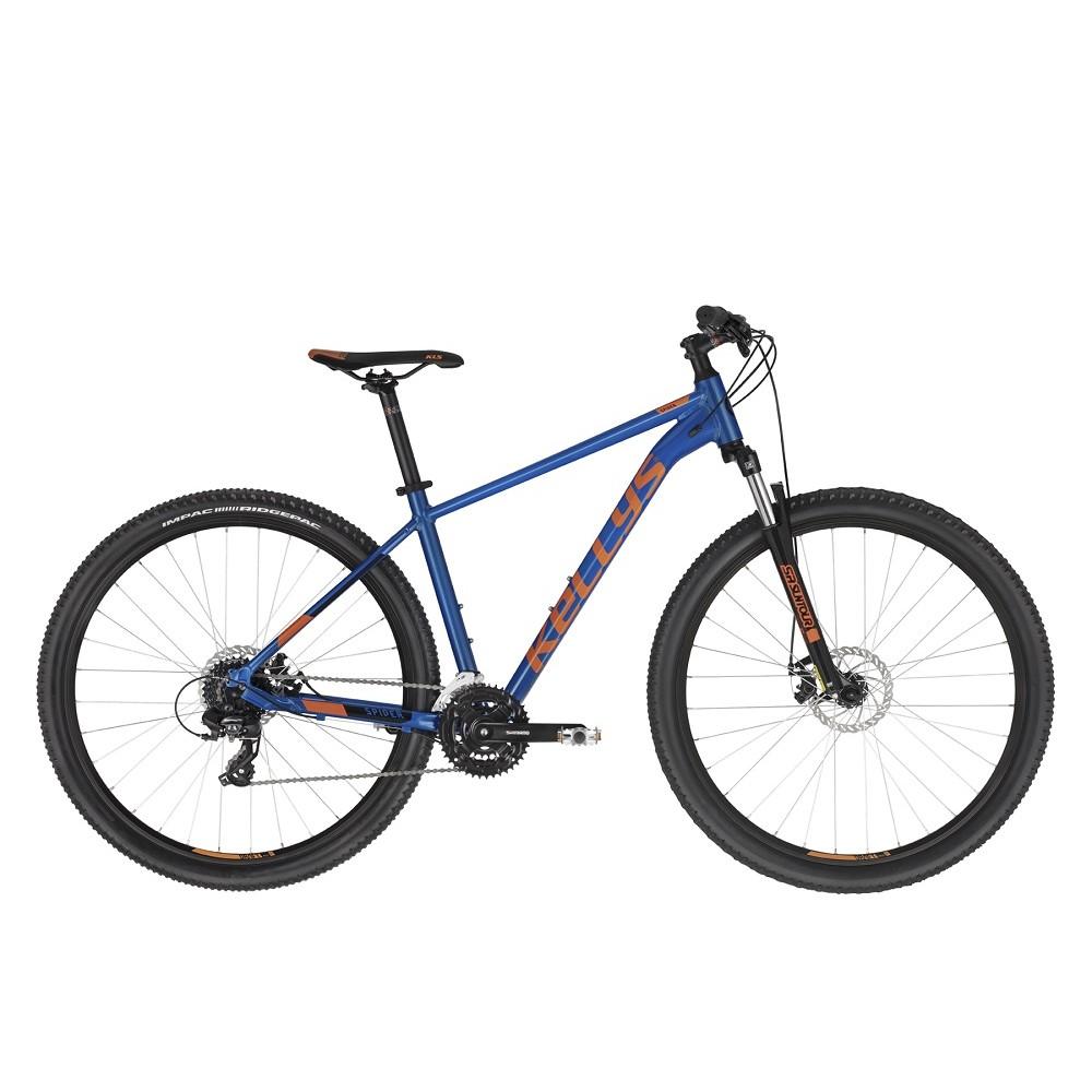 "Horský bicykel KELLYS SPIDER 30 29"" - model 2021 blue - M (19'')"