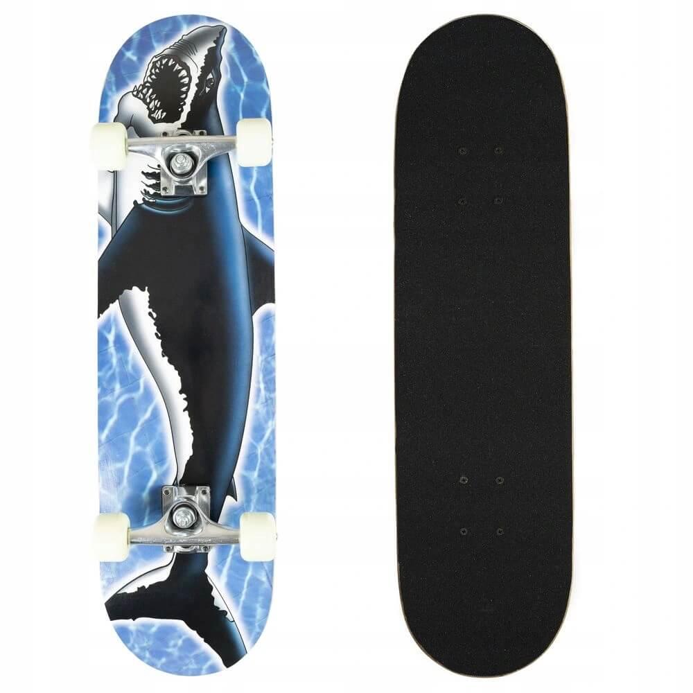 Skateboard Ground Control Blue Shark