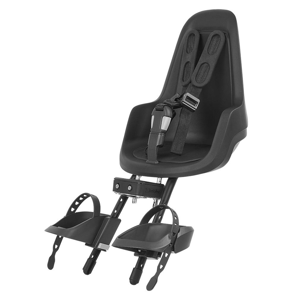 Predná detská sedačka Bobike Mini One Black