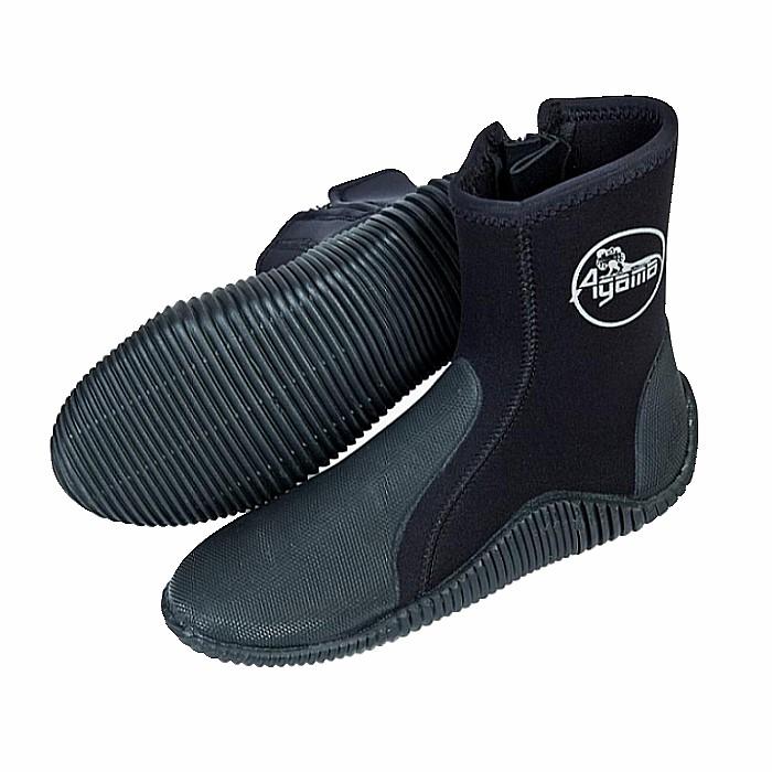 Neoprénové topánky Agama Stream 5 mm čierna - 45