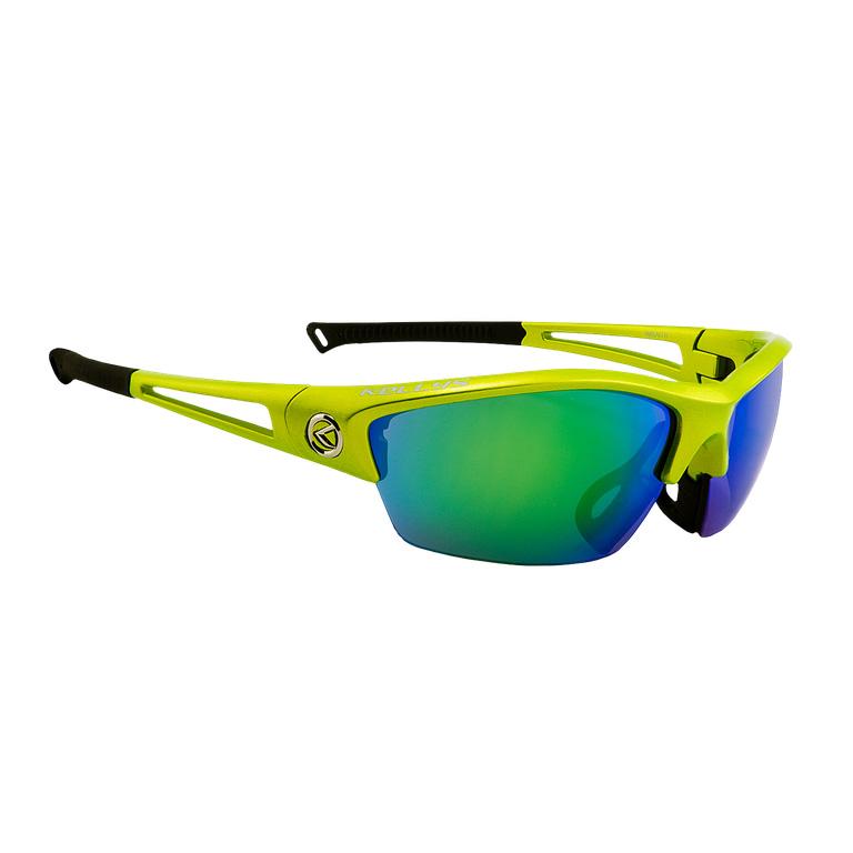 Cyklistické okuliare KELLYS Wraith limetková