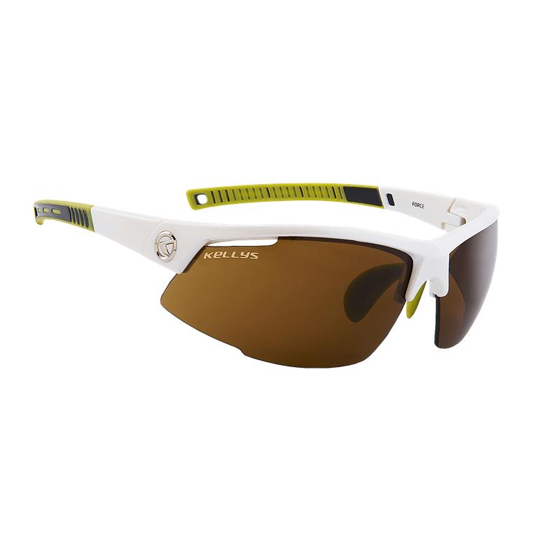 Cyklistické okuliare KELLYS Force biela