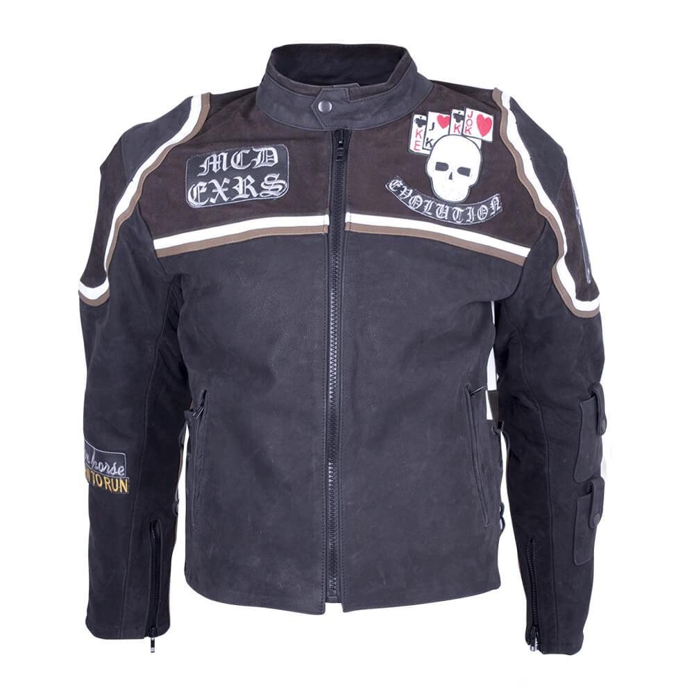 Kožená moto bunda Sodager Micky Rourke