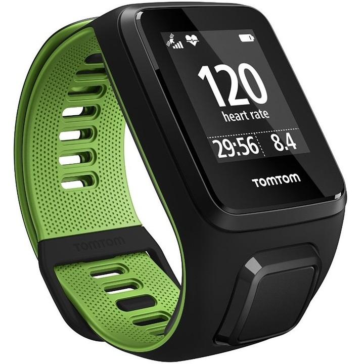 Športtester TomTom Runner 3 Cardio + Music + Bluetooth slúchadlá