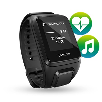 Športtester s GPS TomTom Spark Fitness Cardio + Music