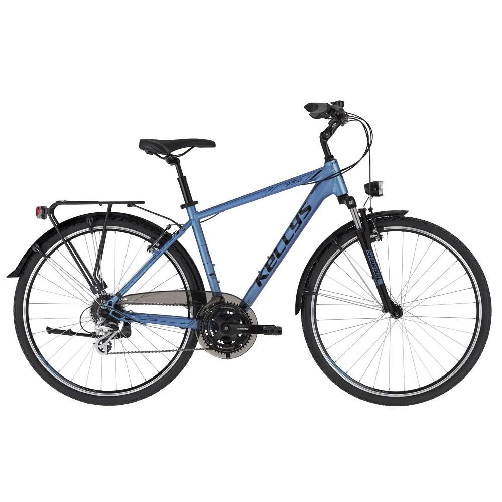 """Pánsky trekingový bicykel KELLYS CARSON 30 28"""" - model 2021 M (19'') - Záruka 10 rokov"""
