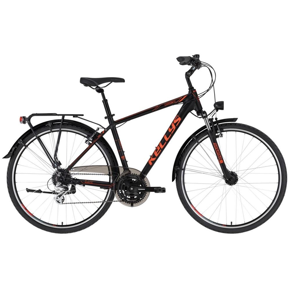 """Pánsky trekingový bicykel KELLYS CARSON 40 28"""" - model 2021 M (19'') - Záruka 10 rokov"""