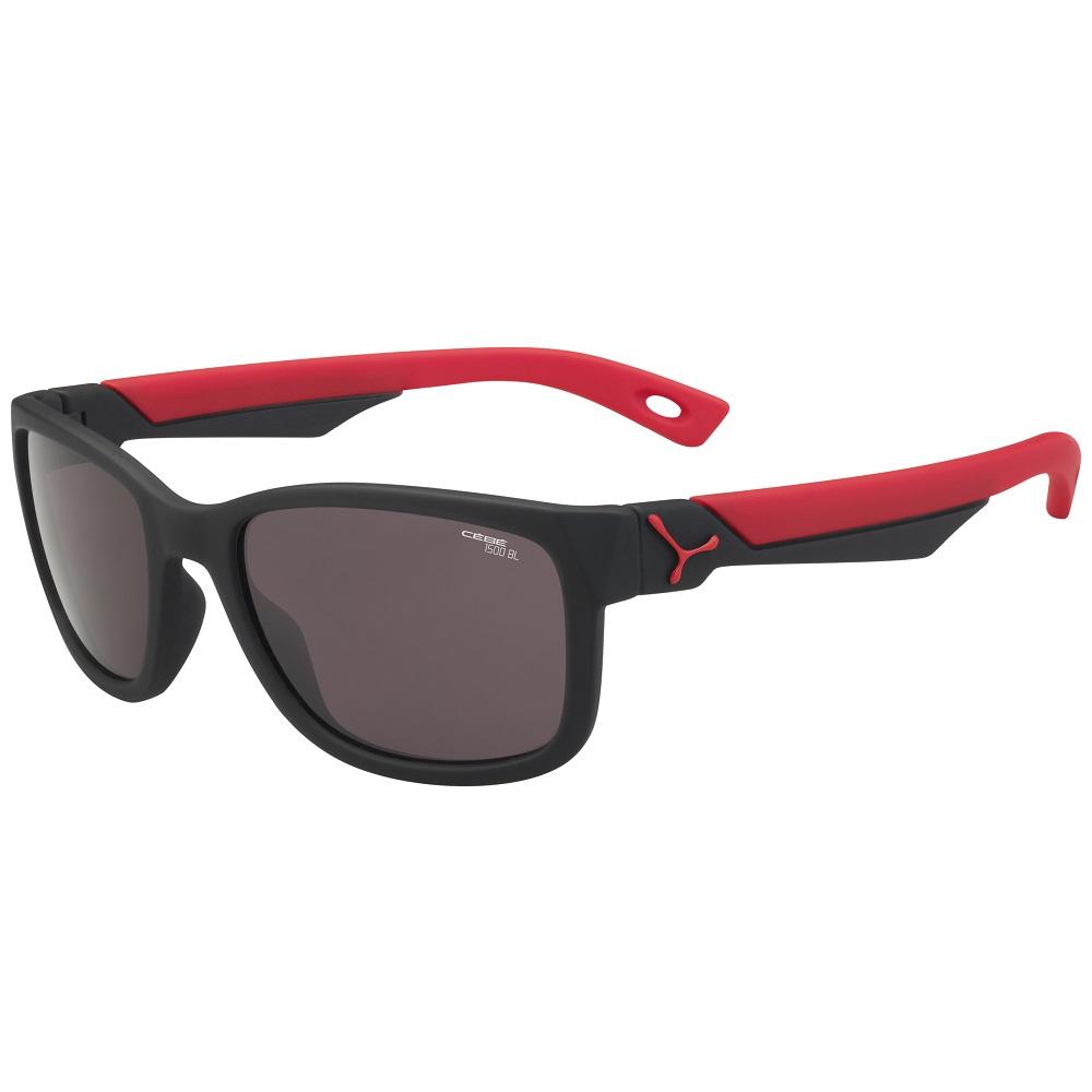 Detské športové okuliare Cébé Avatar čierno-červená