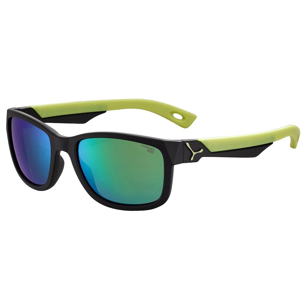 Detské športové okuliare Cébé Avatar čierno-zelená