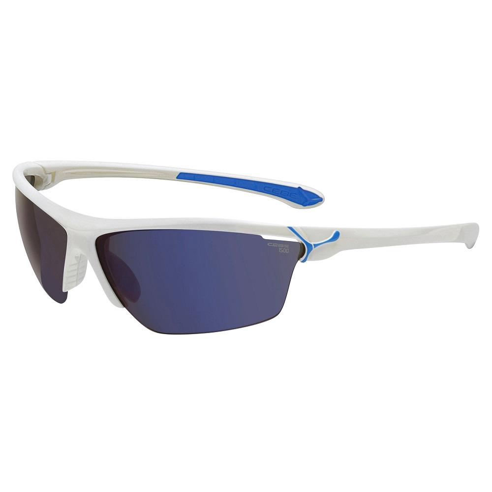 Cyklistické okuliare Cébé Cinetik bielo-modrá