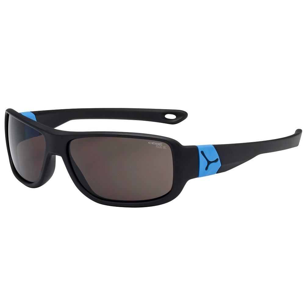 Detské športové okuliare Cébé Scrat čierno-modrá