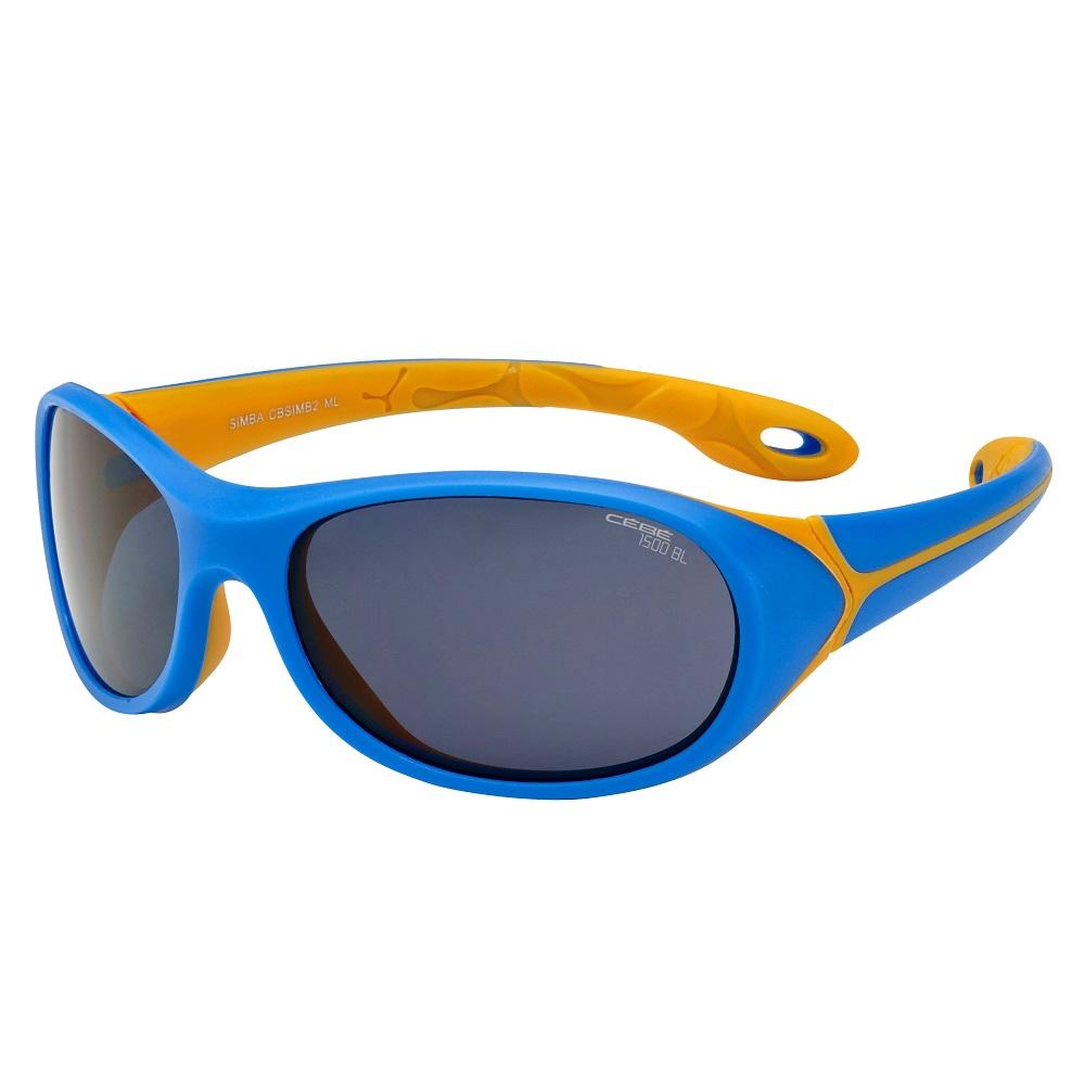 Detské športové okuliare Cébé Simba modro-oranžová