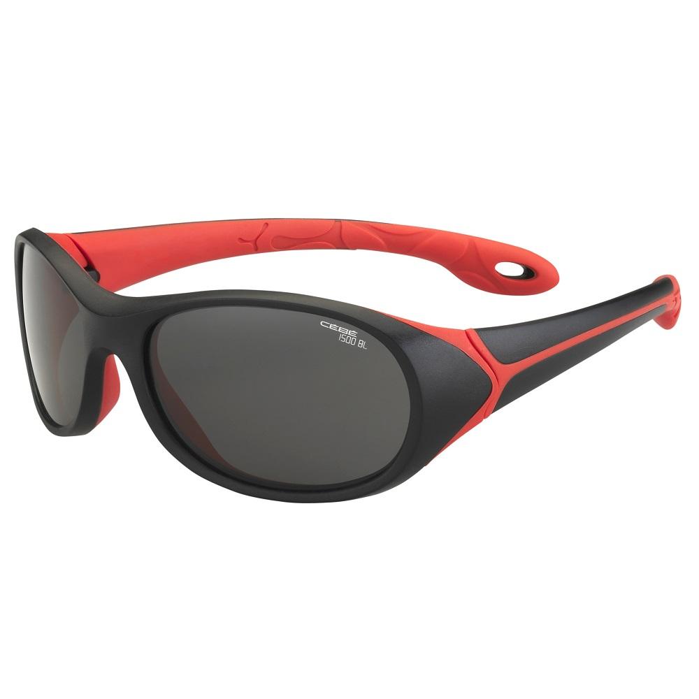 Detské športové okuliare Cébé Simba čierno-červená