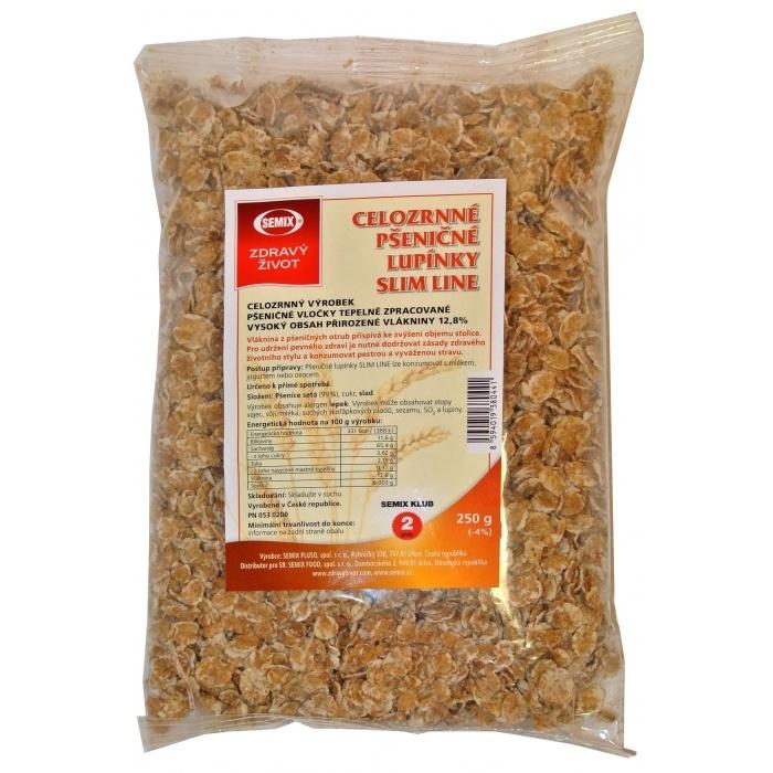 Celozrné pšeničné lupienky Slim-line 250g