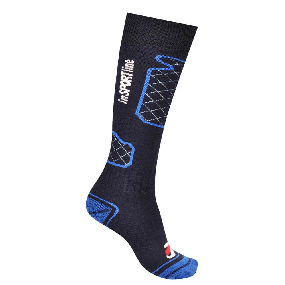 Chlapčenské termo ponožky inSPORTline Merino Boys