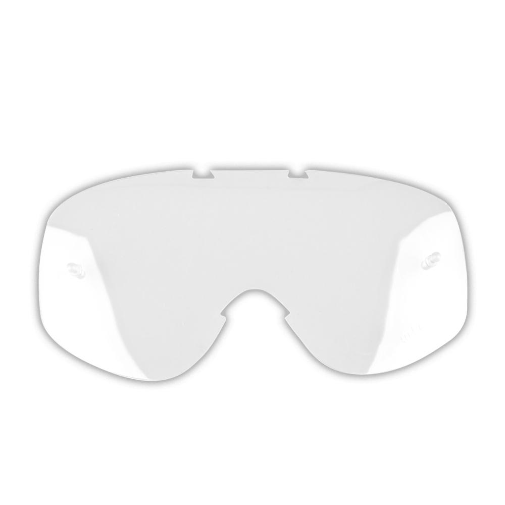 Náhradné sklo k moto okuliarom W-TEC Major číre
