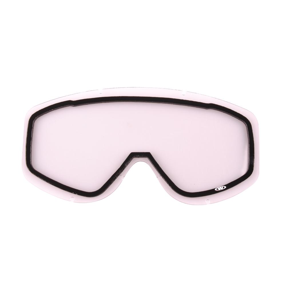 Náhradné sklo k okuliarom WORKER Simon číre