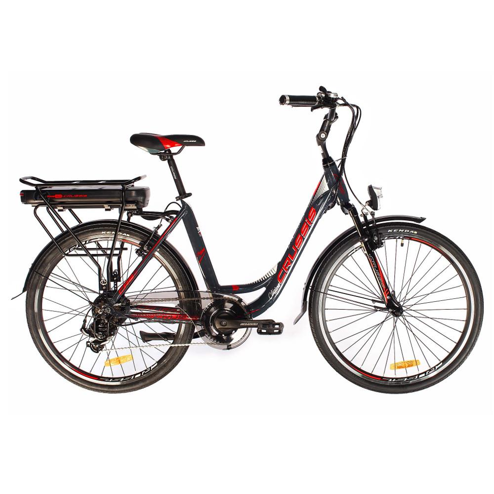 """Mestský elektrobicykel Crussis e-City 1.10-S - model 2019 17"""" - Záruka 10 rokov"""