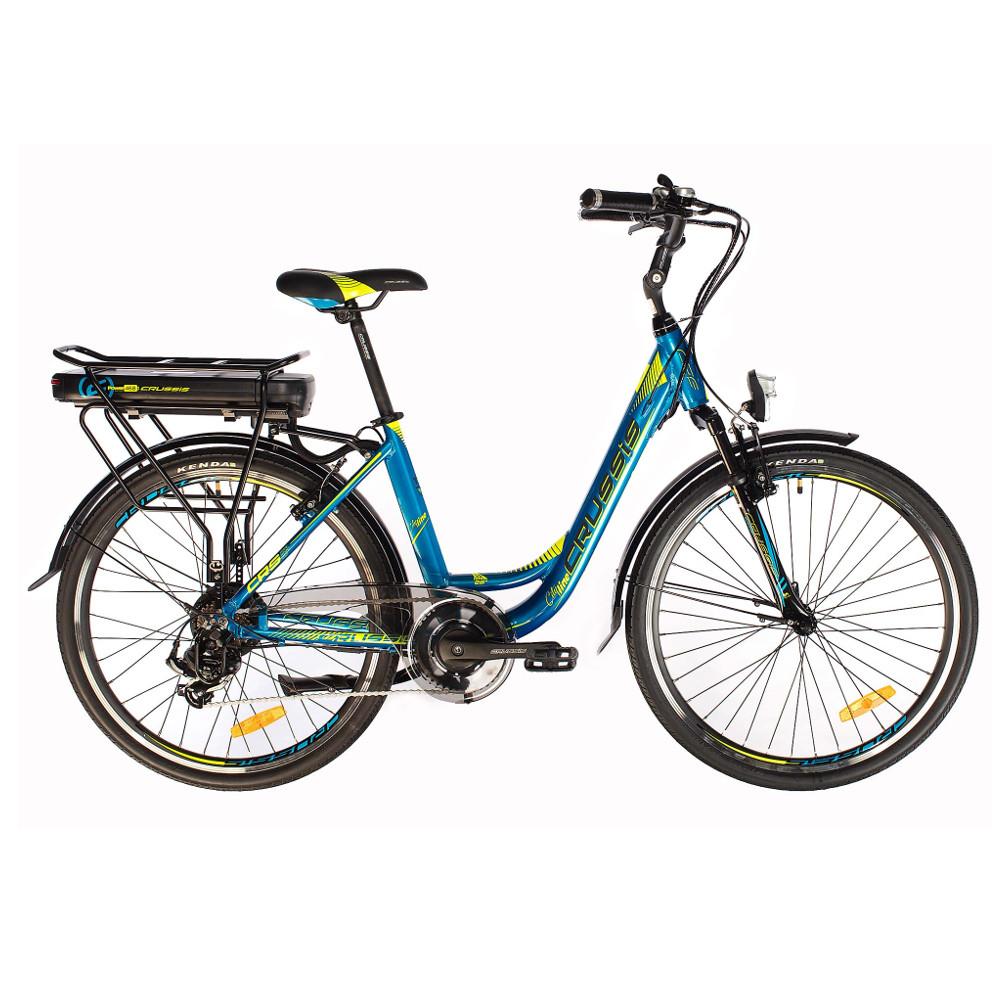 """Mestský elektrobicykel Crussis e-City 1.9-S - model 2019 17"""" - Záruka 10 rokov"""