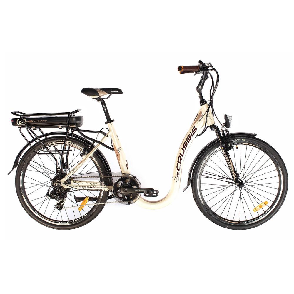 Mestský elektrobicykel Crussis s nízkym nástupom e-City 2.4 - model 2019 - Záruka 10 rokov