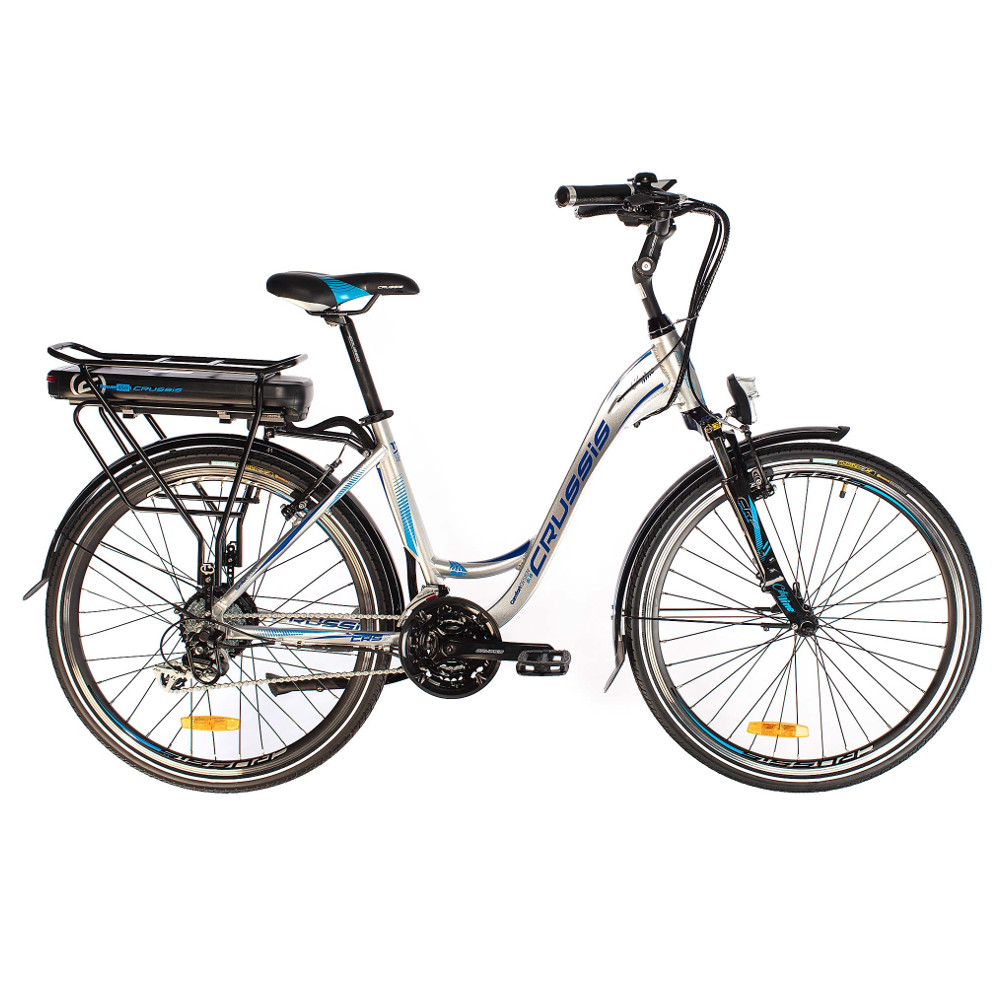 """Mestský elektrobicykel Crussis e-City 5.6-S - model 2019 17"""" - Záruka 10 rokov"""