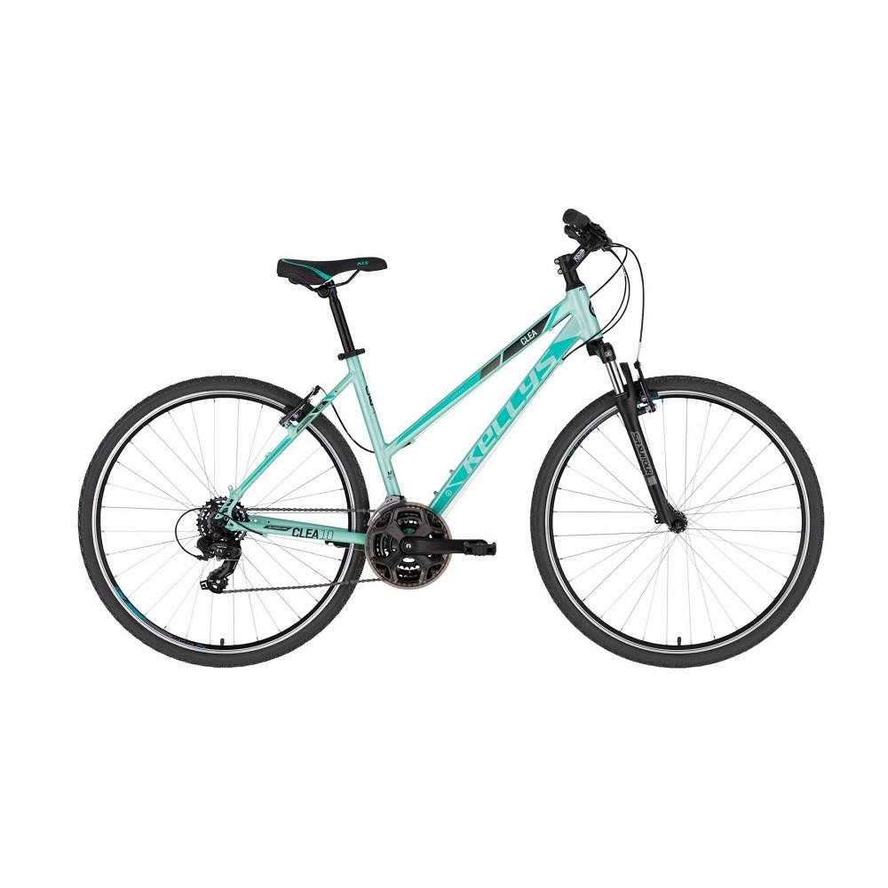"Dámsky crossový bicykel KELLYS CLEA 10 28"" - model 2021 Mint - S (17'') - Záruka 10 rokov"
