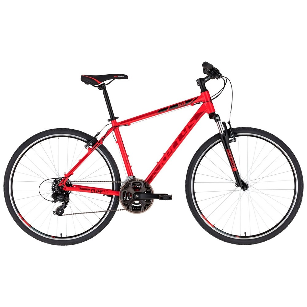 """Pánsky crossový bicykel KELLYS CLIFF 10 28"""" - model 2020 Red - S (17'') - Záruka 10 rokov"""