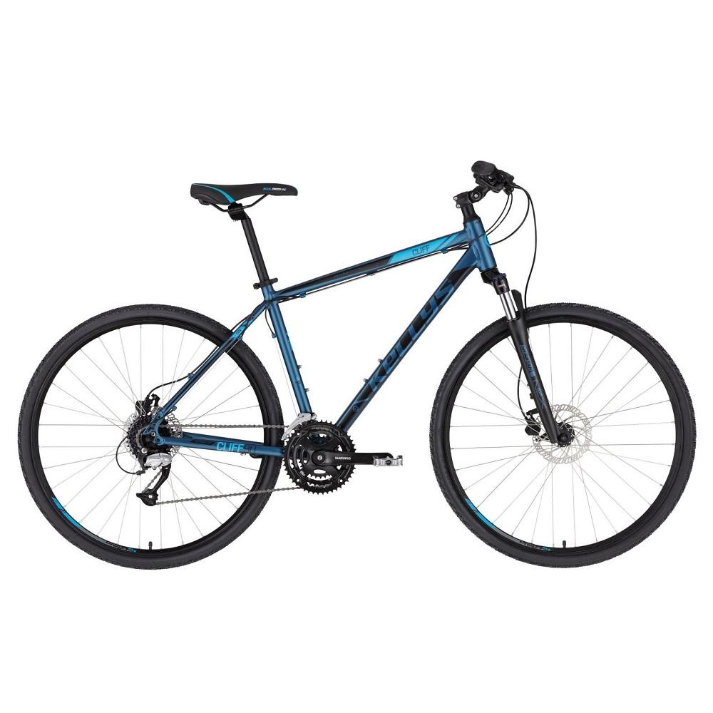 """Pánsky crossový bicykel KELLYS CLIFF 90 28"""" - Model 2020 Deep Blue - S (17'') - Záruka 10 rokov"""