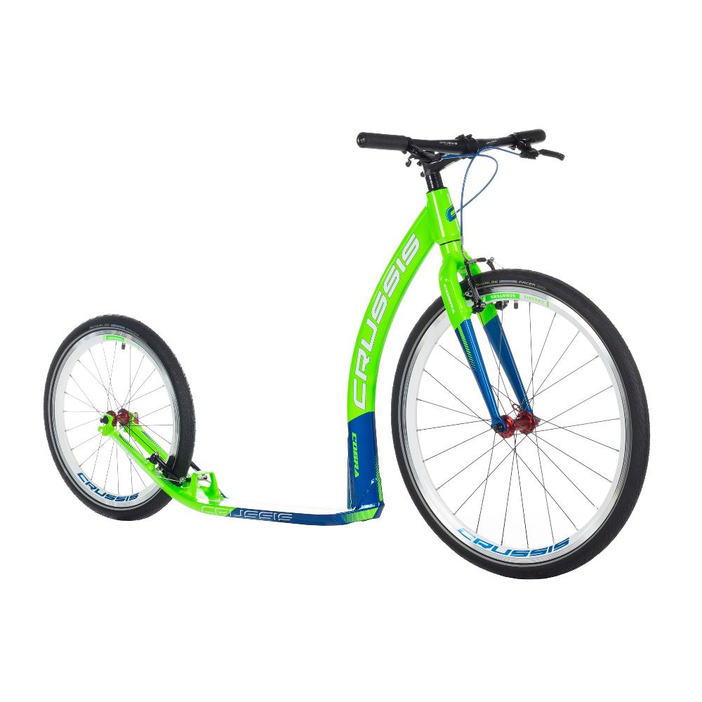 """Kolobežka Crussis Cobra 4.2 zeleno-modrá 26""""/20"""""""