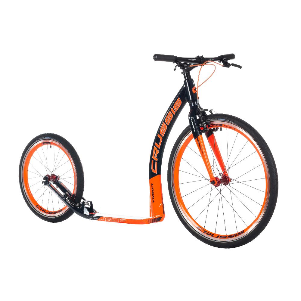 """Kolobežka Crussis Cobra 4.3 čierno-oranžová 26""""/20"""""""