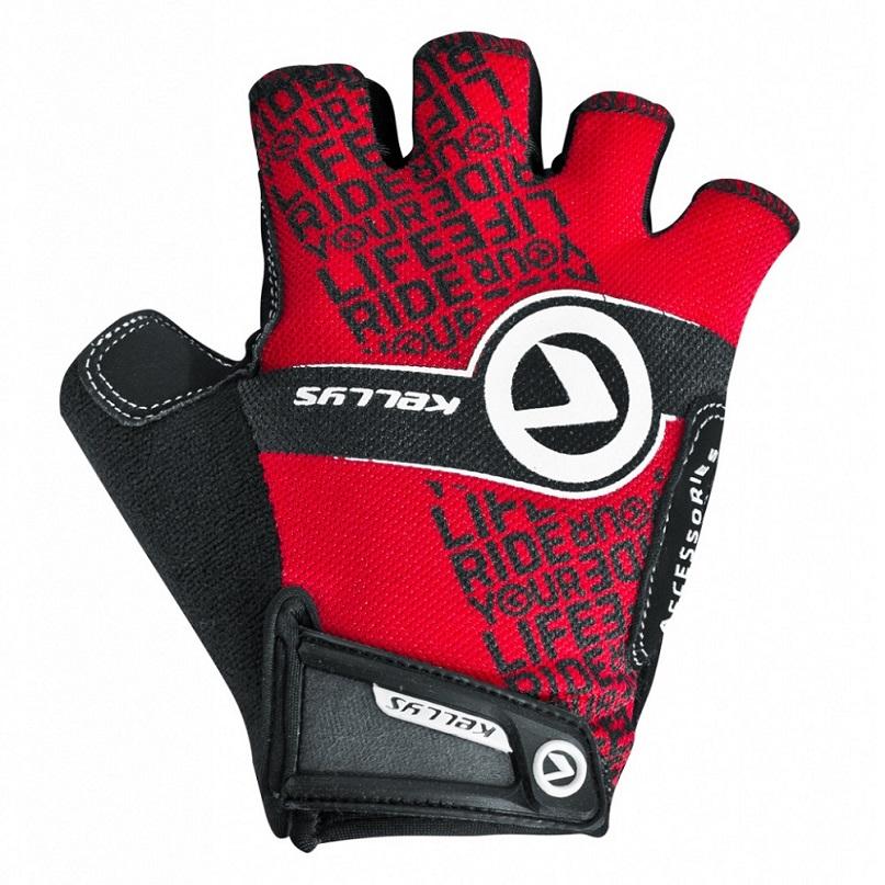 Cyklo rukavice KELLYS COMFORT NEW červená - XL