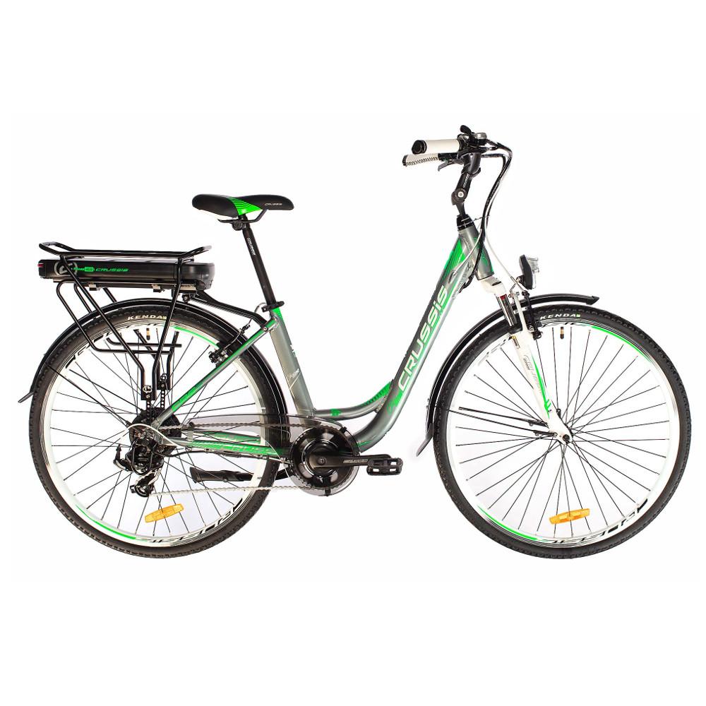 """Mestský elektrobicykel Crussis e-Country 1.8 - model 2019 17"""" - Záruka 10 rokov"""