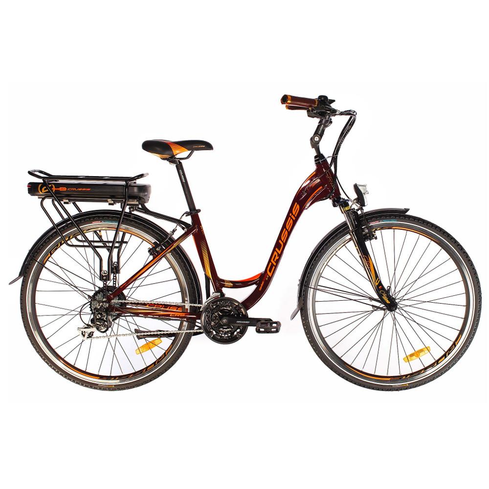 """Mestský elektrobicykel Crussis e-Country 5.6-S - model 2019 17"""" - Záruka 10 rokov"""