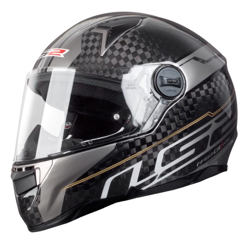 Moto prilba LS2 FF396 CR1 trix carbon