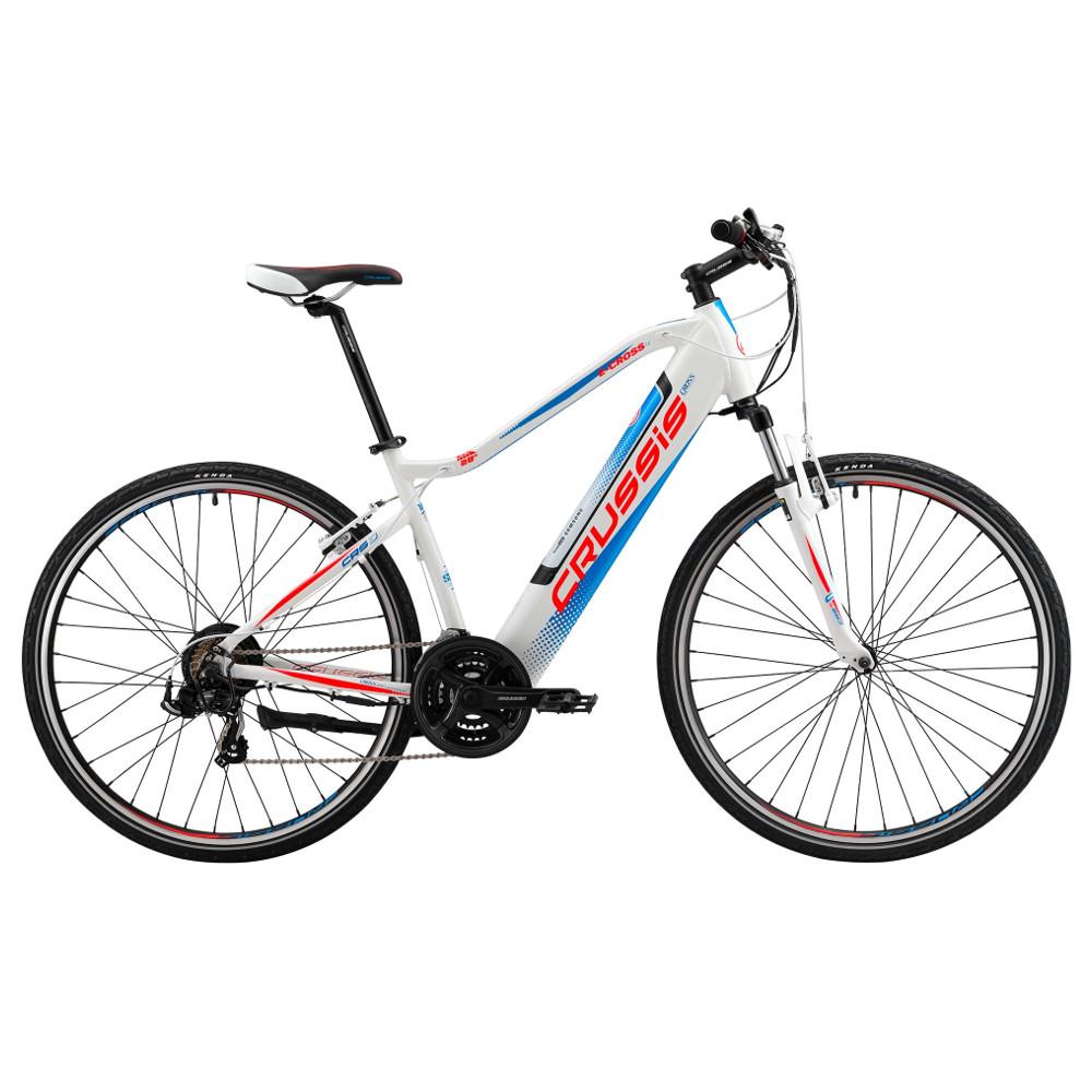 """Pánsky crossový elektrobicykel Crussis e-Cross 1.4 - model 2019 18"""" - Záruka 10 rokov"""