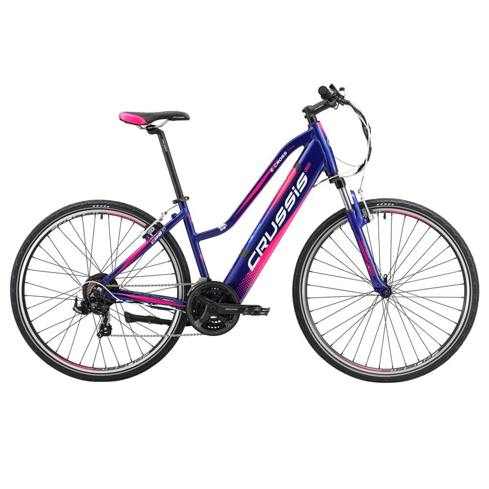 """Dámsky crossový elektrobicykel Crussis e-Cross Lady 1.4 - model 2019 17"""" - Záruka 10 rokov"""