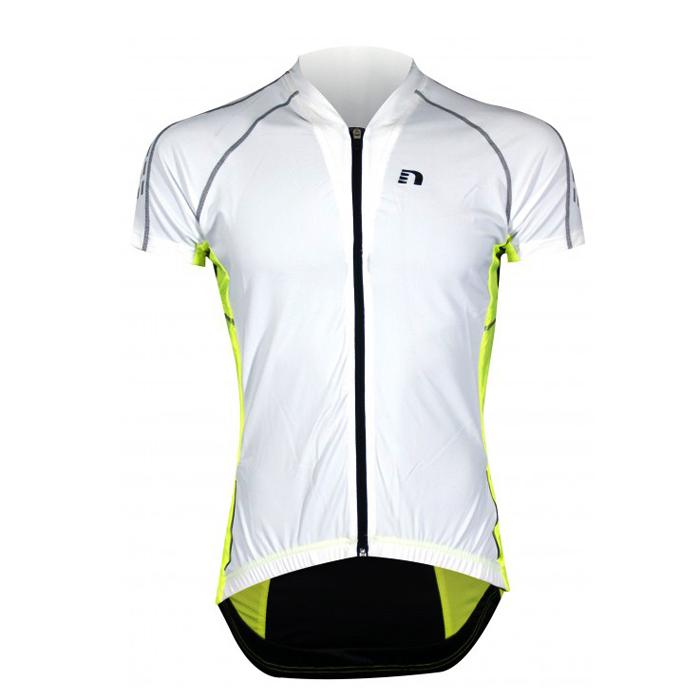 Pánske cyklistické tričko Newline Bike Vent Jersey biela - M