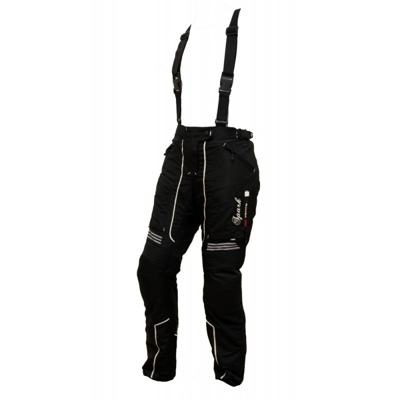 Dámske textilné moto nohavice Spark Nora čierna - L