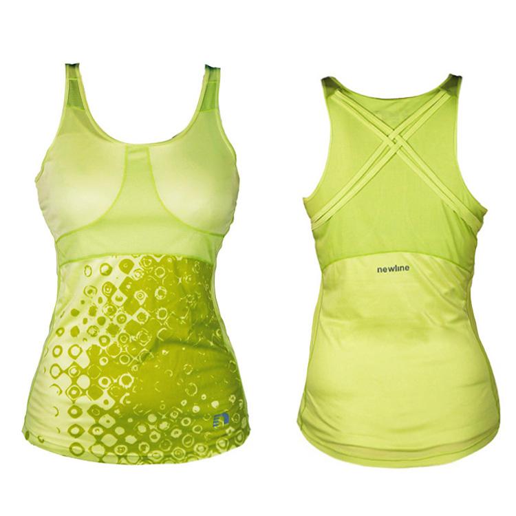 c49c010cf1e7 Dámske športové tričko bez rukávov Newline Imotion Tank - žltá. Športové  funkčné tričko bez rukávov ...
