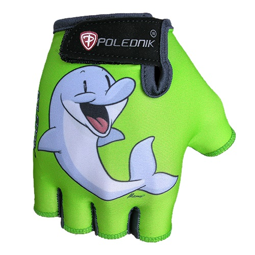 Detské cyklo rukavice POLEDNIK Baby New delfín - 3