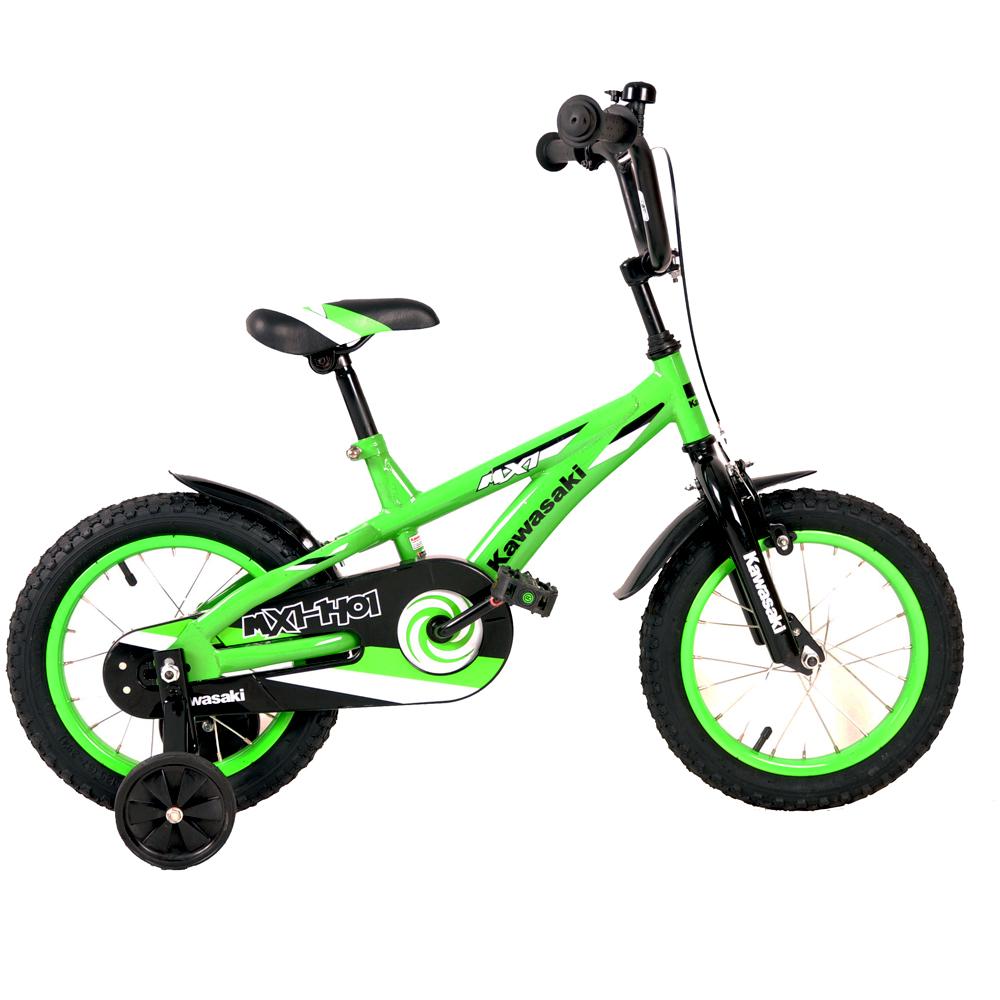 "Detský bicykel KAWASAKI Buddy 14"""