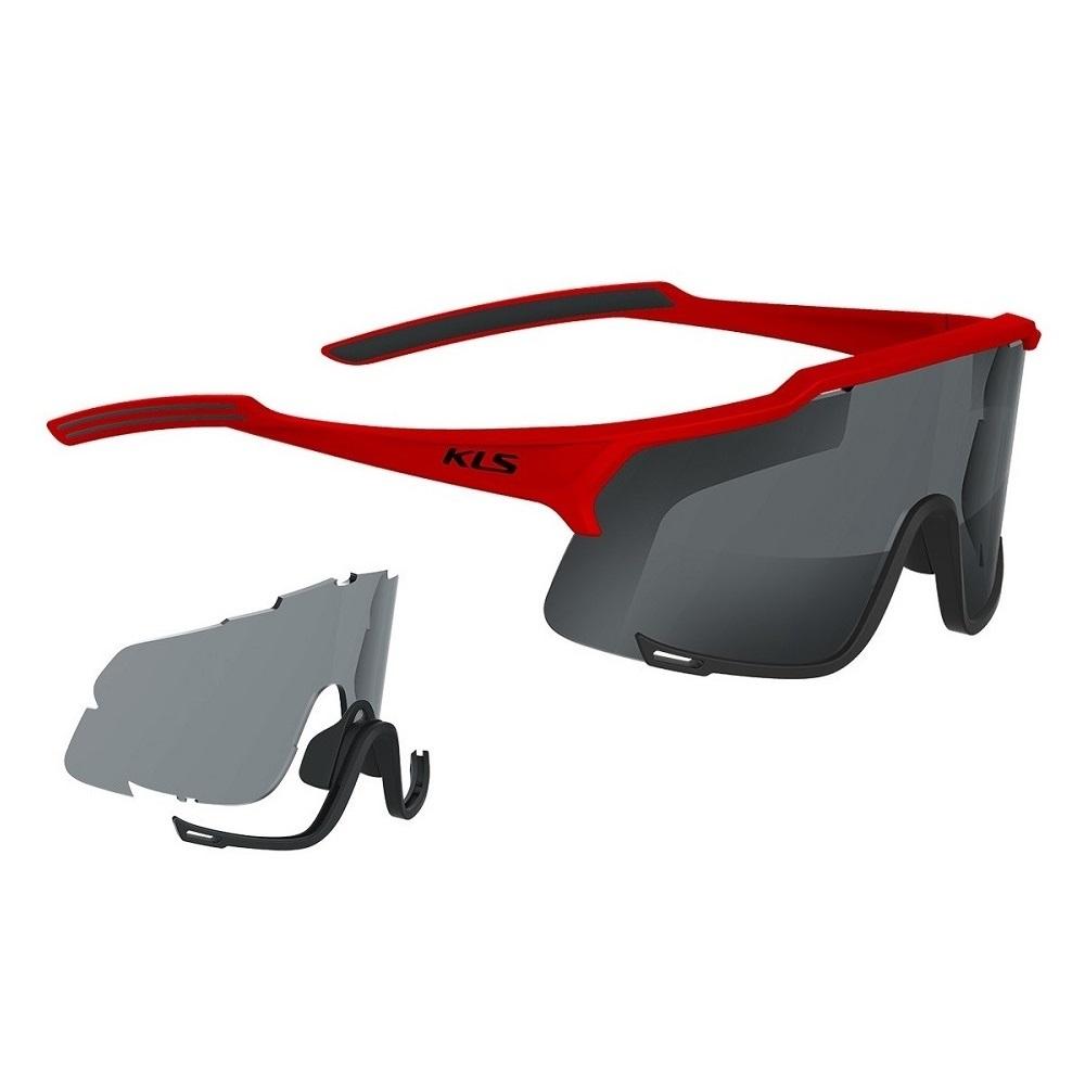 Cyklistické okuliare Kellys Dice Photochromic Red