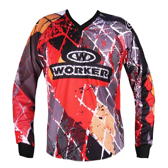 Motocrossový dres WORKER T-Senior