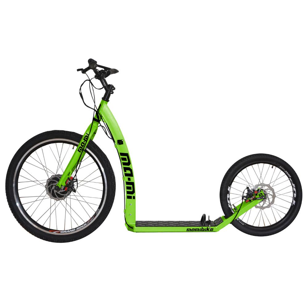 Elektrokolobežka MA-MI DRIFT s rýchlonabíjačkou zelená