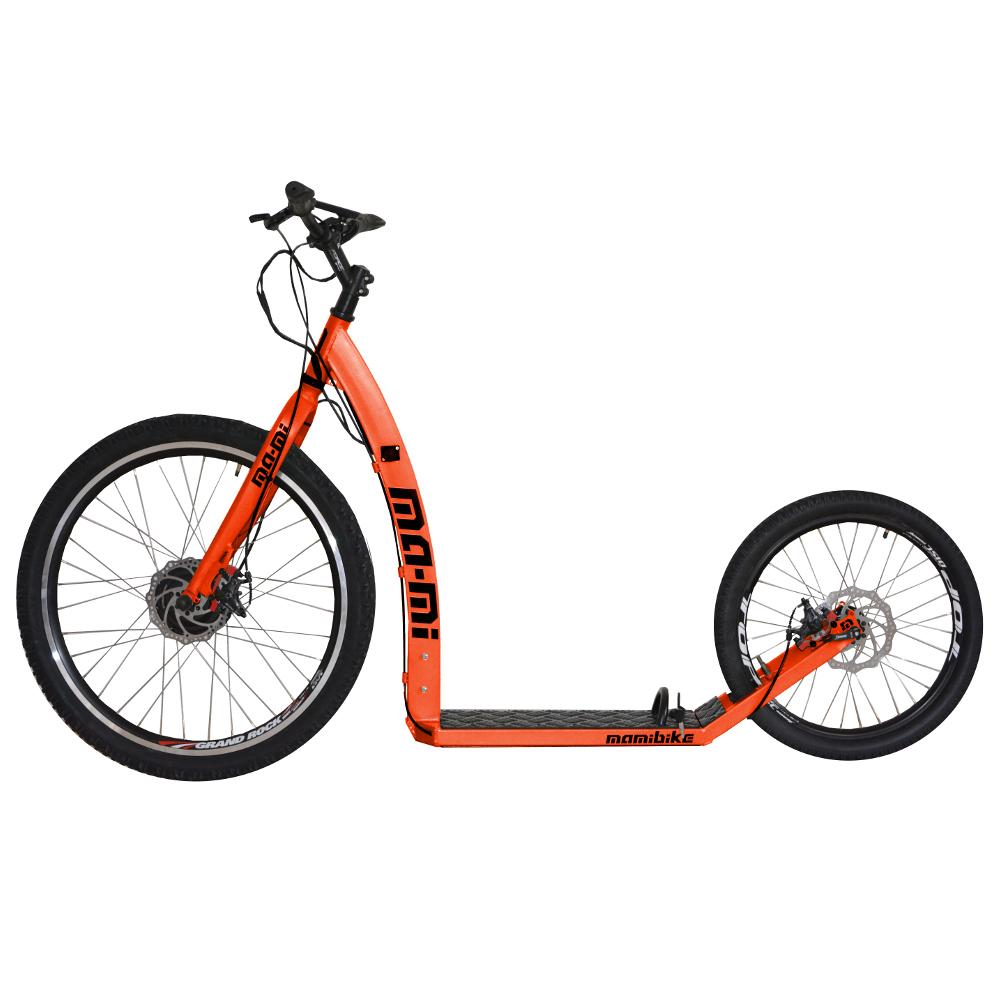 Elektrokolobežka MA-MI DRIFT s rýchlonabíjačkou oranžová