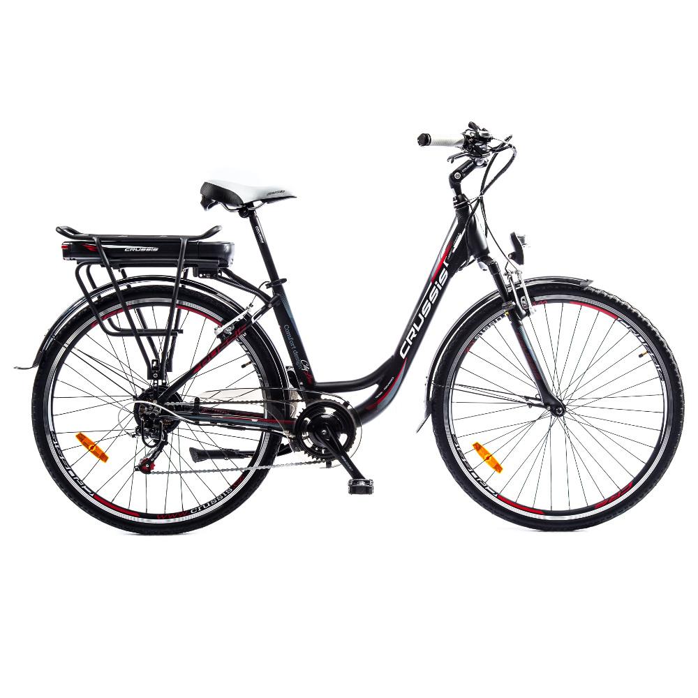 """Mestský elektrobicykel Crussis e-Country 1.7-S - model 2018 17"""" - Záruka 10 rokov"""